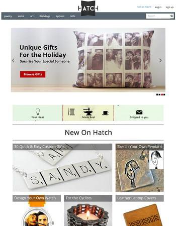 Hatch marketplace de produits artisanaux uniques huit for Idee de start up