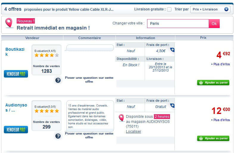 Confidentiel cdiscount exp rimente le click and collect sur sa marketplace - Cdiscount vente privee ...