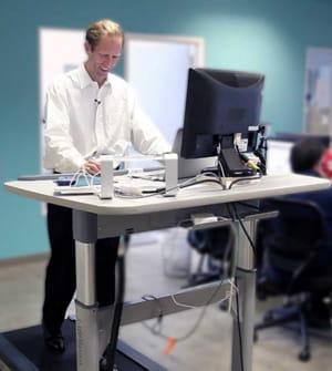 Bureau et tapis de course augmentent les chances de se blesser le travail au bureau vous tue - Emploi de menage de bureaux ...