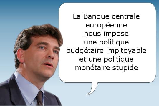 La stupidité de la BCE
