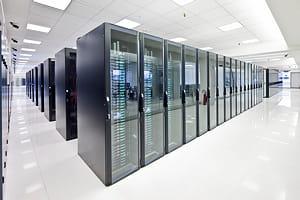 vue de l'un des data centers d'aruba.