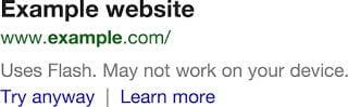 2235607 seo google veut penaliser les sites mobiles utilisant flash