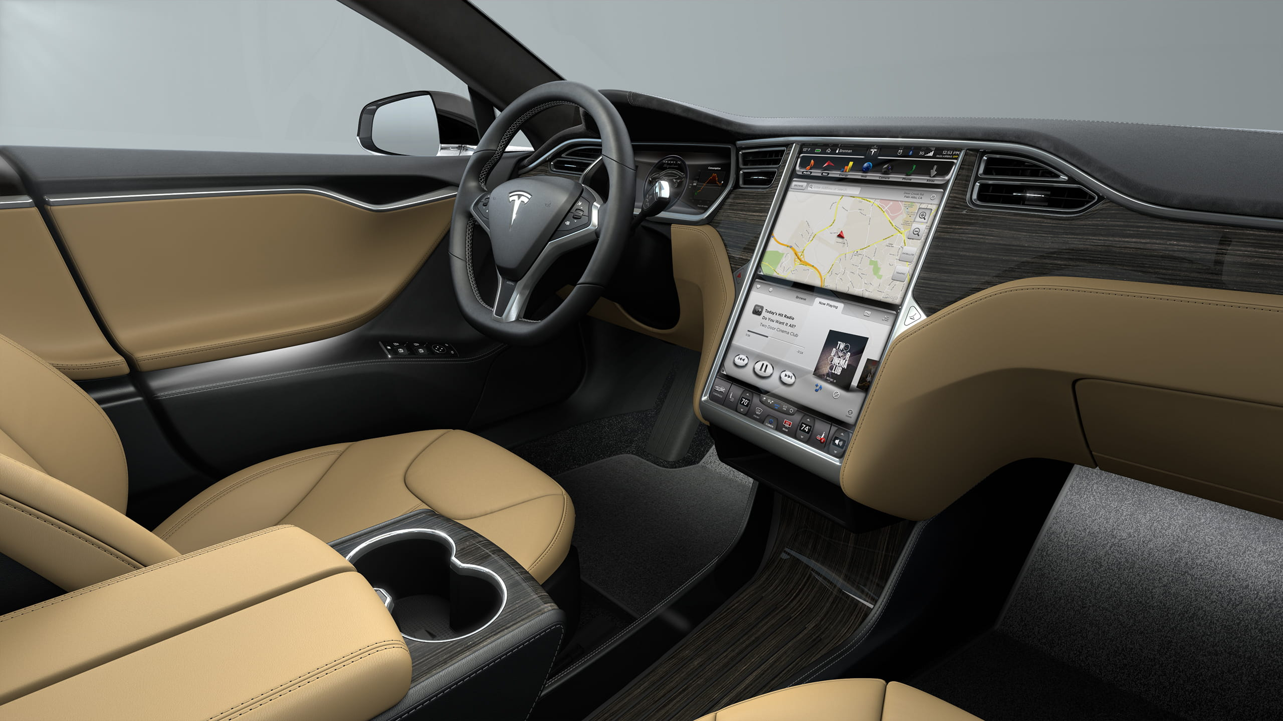 tesla d voile les versions 4x4 et bi moteurs de sa model s la pointe de la technologie. Black Bedroom Furniture Sets. Home Design Ideas