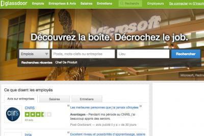 Recrutement : Glassdoor se lance en France et mise sur la ...
