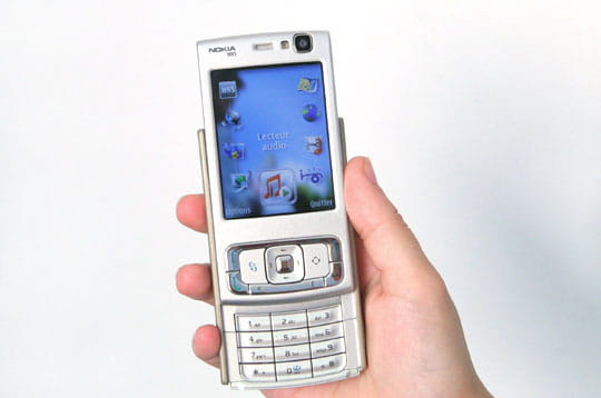 Wifi, baladeur, GPS, le Nokia N95 sait tout faire !