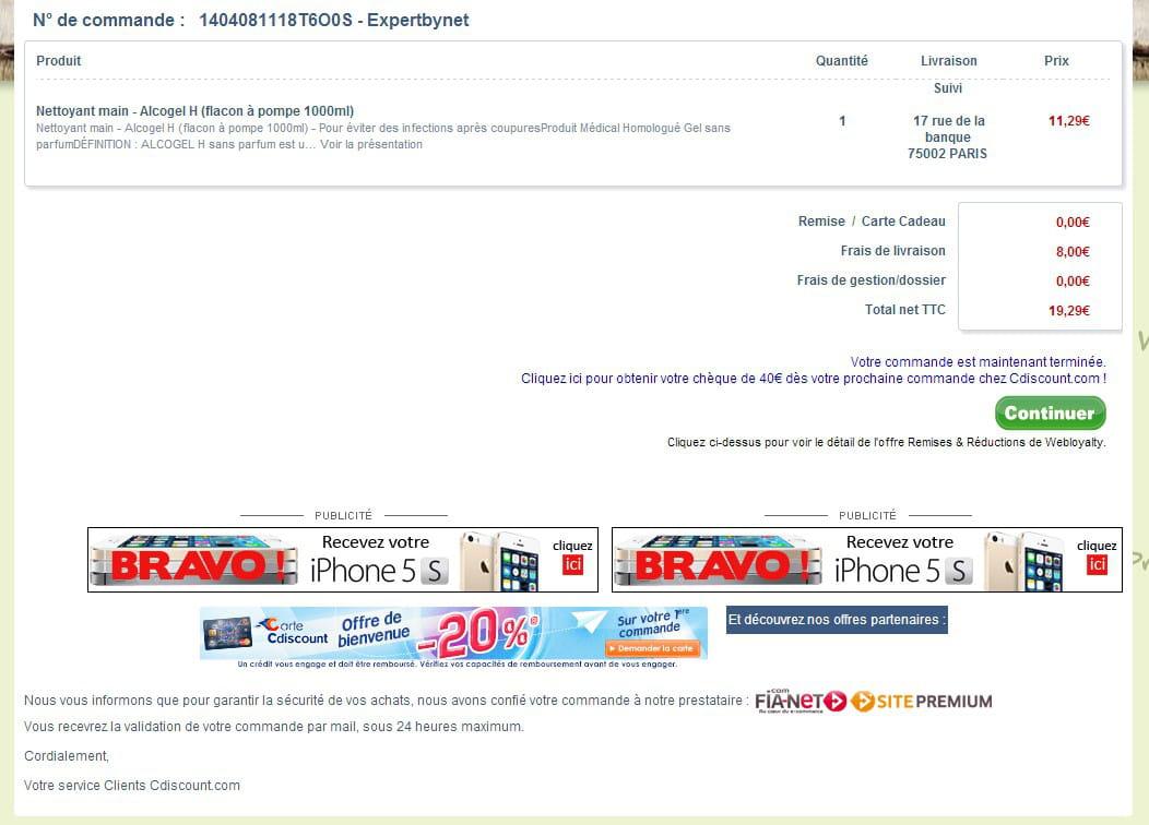 Webloyalty bon plan pour les marchands pi ge pour les clients jdn - Cdiscount espace client suivi commande ...