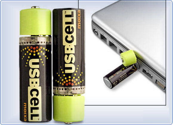 Piles rechargeables USB