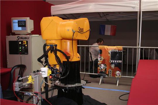 Robot artiste
