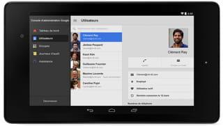 capture des google apps pour work.