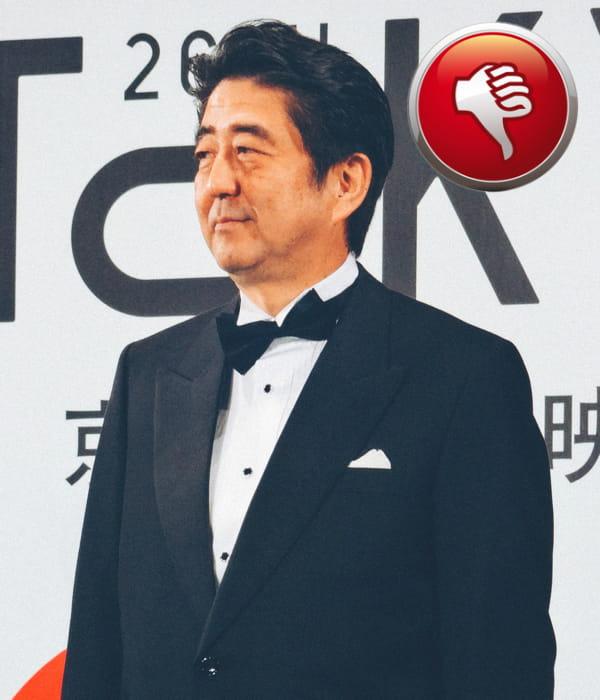 Pour 4 ans, le premier ministre japonais shinzo abe a pourtant du