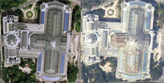 Géoportail ou Google Earth ?
