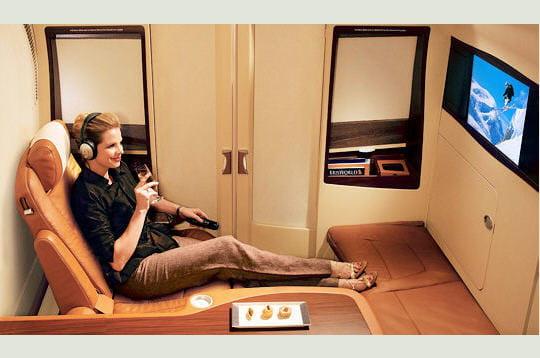 5 étoiles Singapore Airlines