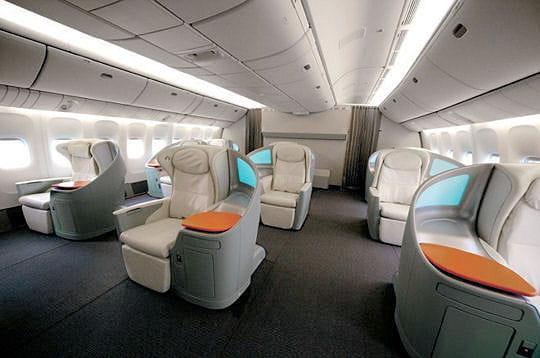 4 étoiles Japan Airlines