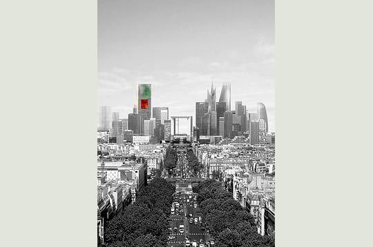 Nouveau symbole dans le ciel parisien