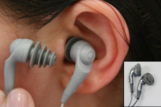 Deux paires d'écouteurs