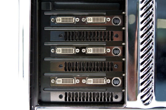 Six écrans connectables