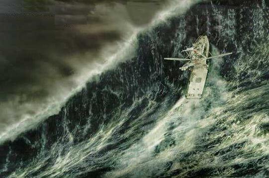 En pleine tempête