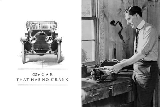 1911 la fin de la manivelle general motors un si cle d 39 histoire automobile jdn. Black Bedroom Furniture Sets. Home Design Ideas