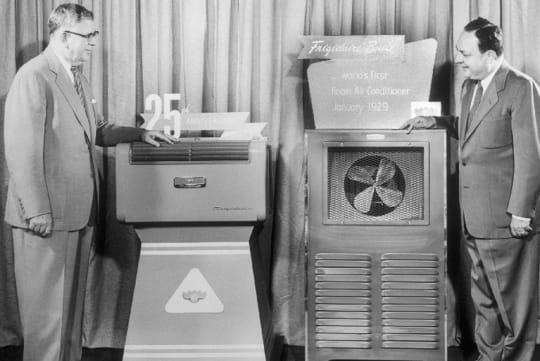 1929   gm et frigidaire inventent le climatiseur   general