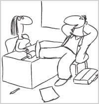 piège n°5: j'arrive en dilettante à l'entretien