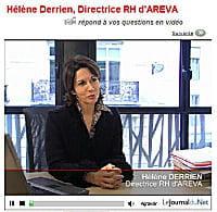 management ressources humaines dossier  initiatives decalees pour mieux recruter areva dialogue en direct et video avec les candidatsshtml