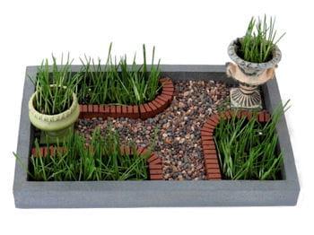 le bonheur est dans le mini jardin. Black Bedroom Furniture Sets. Home Design Ideas