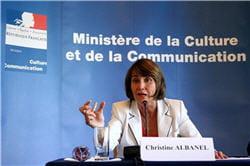 christine albanel a envisagé d'intégrer une taxe sur la publicité en ligne au