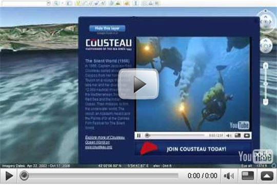 En collaboration avec Cousteau