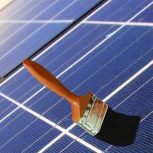 un panneau solaire en peinture ces innovations sont les succ s du futur jdn. Black Bedroom Furniture Sets. Home Design Ideas
