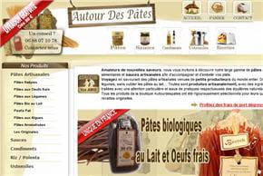 plus de 60 types de pâtes artisanales
