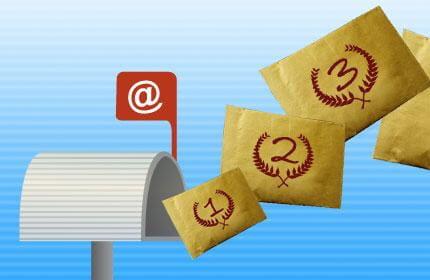 les meilleurs e-mailings du premier trimestre 2009