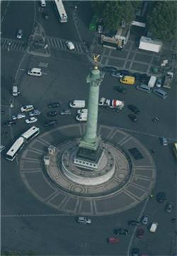 Satellite contre photo aérienne
