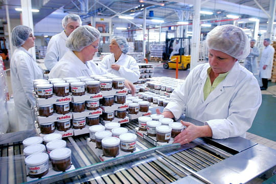 ... fabriquent du Nutella en Normandie : La fabrication du Nutella - JDN