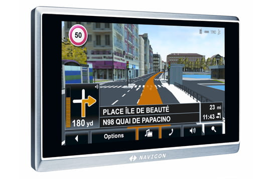 GPS : navigation en 3D photo réaliste