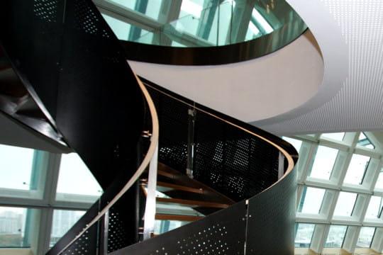 L'escalier en spirale