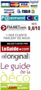 la liste des différents 'partenaires' du site idoriginal.com