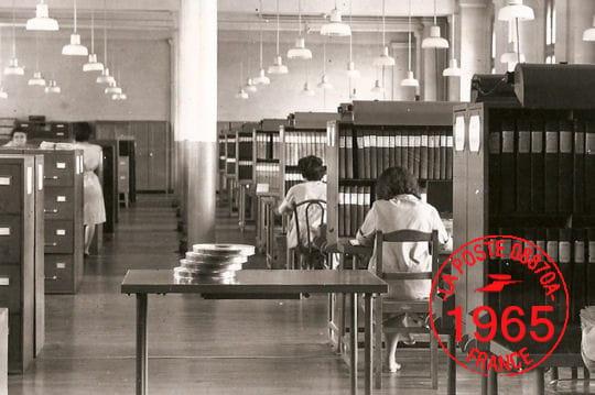 Banque en 1965