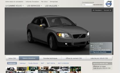 volvo mise sur l 39 interactivit automobile l 39 ergonomie de dix fiches produit la loupe jdn. Black Bedroom Furniture Sets. Home Design Ideas