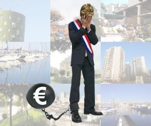 quels maires traînent le boulet de la dette?