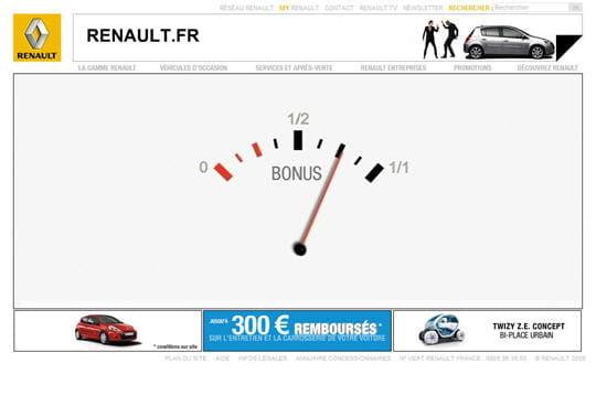 Renault en 2009