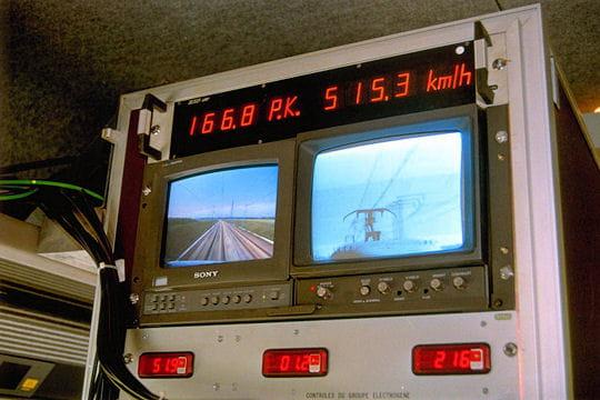 Les records de vitesse du TGV