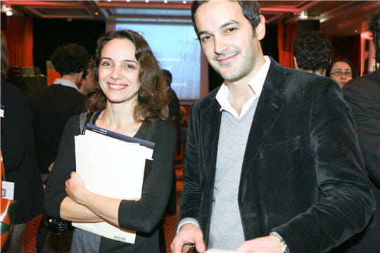 Alexia André et Raphaël Roy