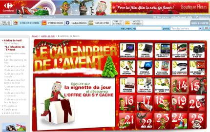 Carrefour construit son atelier de Noël - 10 e-vitrines de Noël ...