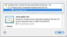 le certificat ev