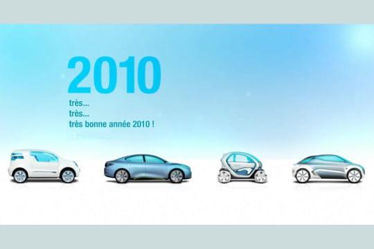 les cartes de voeux 2010 des grandes entreprises   les