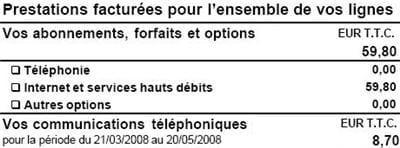 facture neuf telecom