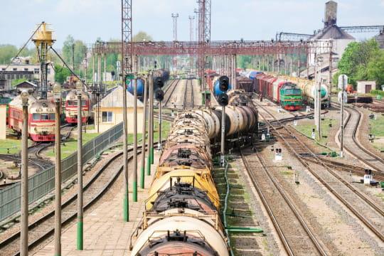 Train d'hydrocarbures