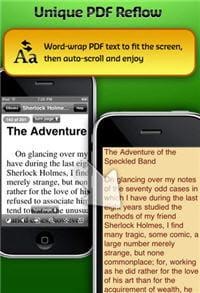 good reader : un très bon lecteur de pdf sur iphone