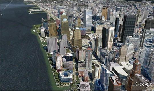 Google Earth en 3D