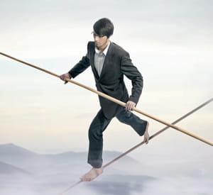 vous engrangerez de la confiance à jouer à l'équilibriste.